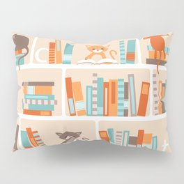 Library cats Pillow Sham