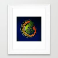 irish Framed Art Prints featuring Irish Twist by Alan Hogan