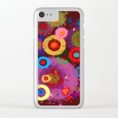 Abstract #360 Splirkles #2 Clear iPhone Case