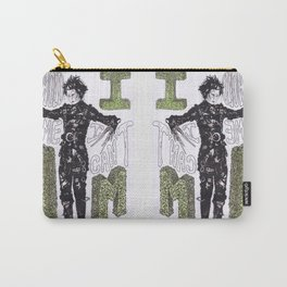 """Hold me"", ""I can't"".  -Edward Scissorhands Carry-All Pouch"