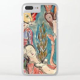 Ceremony Clear iPhone Case