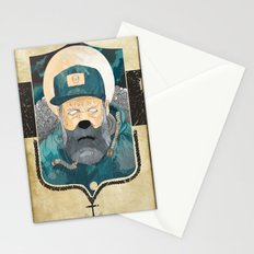 Modern day Pirate. Stationery Cards