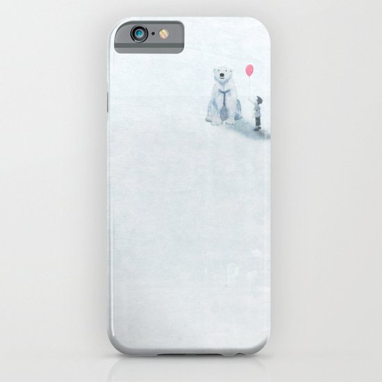 The boy and the bear iPhone & iPod Case