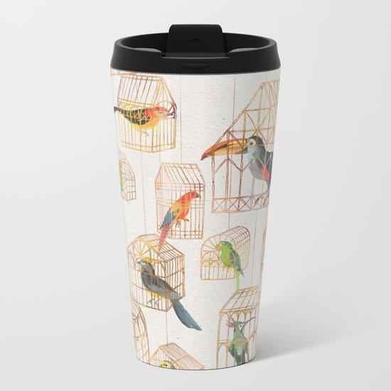 Architectural Aviary Metal Travel Mug