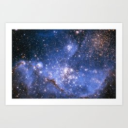 Small Magellanic Cloud Art Print