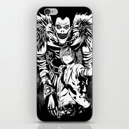 Ryuk &  Light Yagami - Death Note iPhone Skin