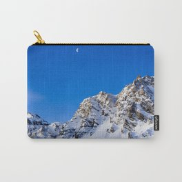 Beautiful Mountain with snow view Carry-All Pouch