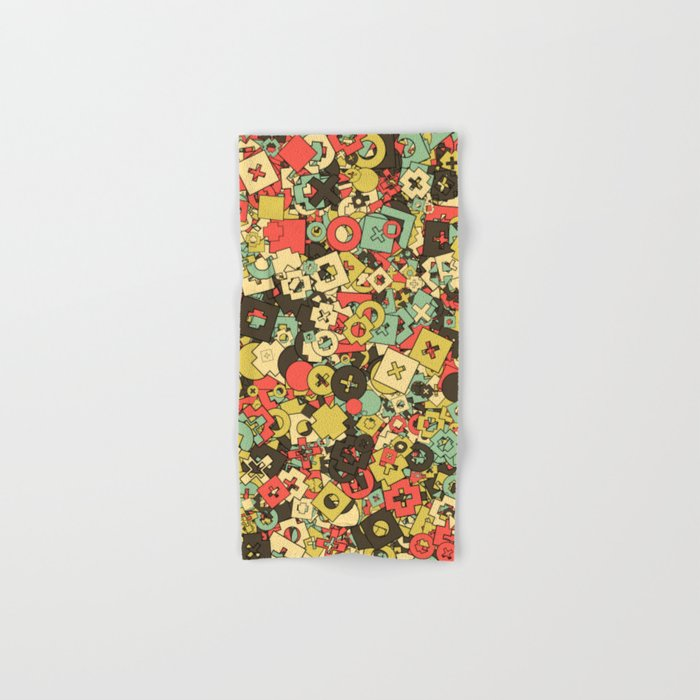 Nineteen Shapes Hand & Bath Towel