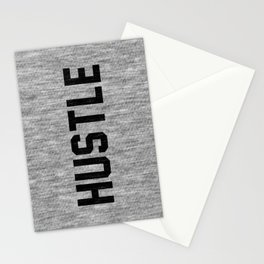 Hustle - light version Stationery Cards