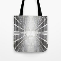 illusion Tote Bags featuring ILLUSION by ED design for fun