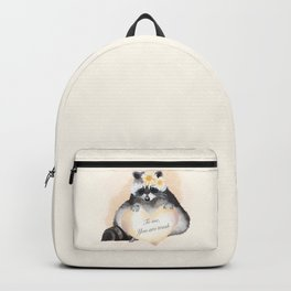 To Me You Are Trash Backpack