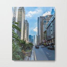 Chicago's Michigan Avenue Metal Print