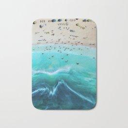 Surf Lessons Bath Mat