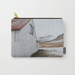 Snowy Barn Carry-All Pouch