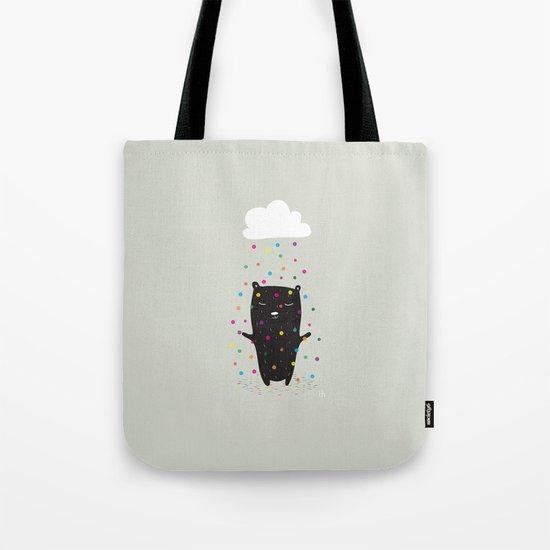 The Happy Rain Tote Bag