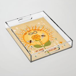 You are golden Acrylic Tray
