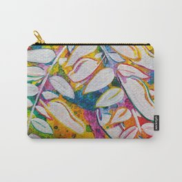 Leaves on the World Tree: Bemba Muombo Carry-All Pouch