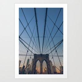Brooklyn Mornings Art Print