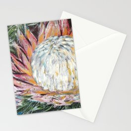 ONWARDS TO GLORY - SPRING PROTEA by Artist HSIN LIN / H.Lin the Artist Stationery Cards