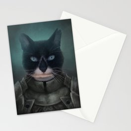 Sir Guinness - Cat Knight Stationery Cards