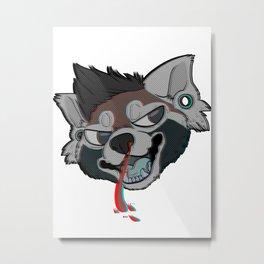 Bleed 3D  Metal Print