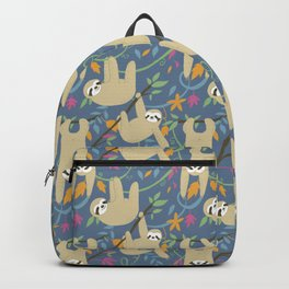 Sloths Hanging out Backpack