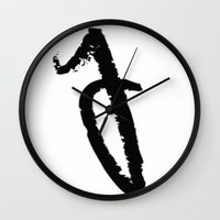 letters Wall Clocks featuring letters by edesigns