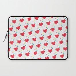 heart hearts Laptop Sleeve