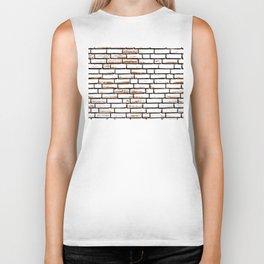 Brick wall 1 Biker Tank