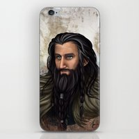 thorin iPhone & iPod Skins featuring Thorin Oakenshield by KuroCyou