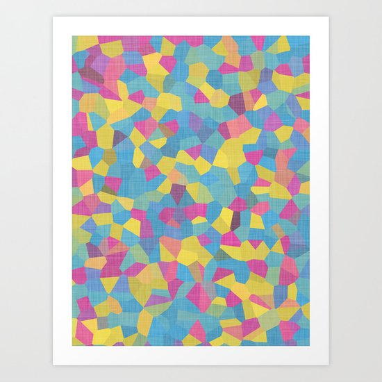 Carnival Fragments Art Print