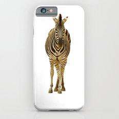 Zebra on White iPhone 6s Slim Case