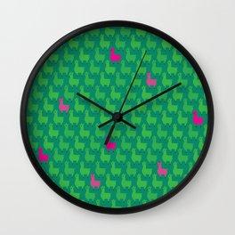 Lhama Wall Clock