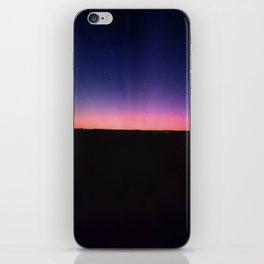 galaxy sunset iPhone Skin
