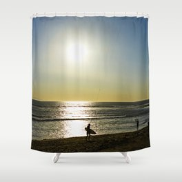 kite surfers Shower Curtain