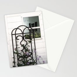 Face in the Window Stationery Cards