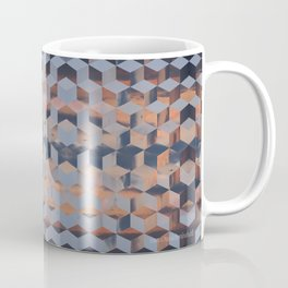 Tumbling Blocks (Sky Quilt 3) Coffee Mug
