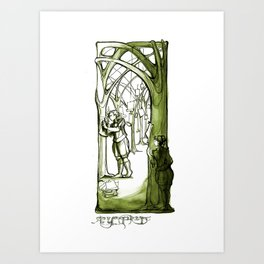As You Like It - Rosaline -  Shakespeare Illustrations Art Print