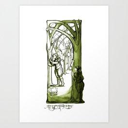 As You Like It - Rosaline -  Shakespeare Illustrations Art Print