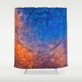 Vibrant Vintage Fantasy Shower Curtain