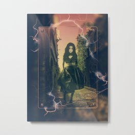 Electrifying Ghost Walk Metal Print