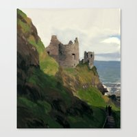 ruben ireland Canvas Prints featuring Ireland by Pedro Vergani
