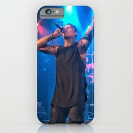 Andy LaPlegua of Combichrist iPhone Case