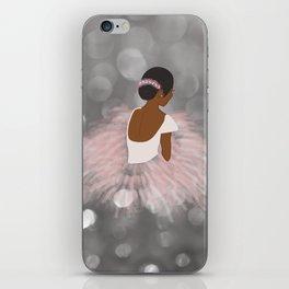 African American Ballerina Dancer iPhone Skin