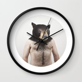 Therianthrope - Bear Wall Clock