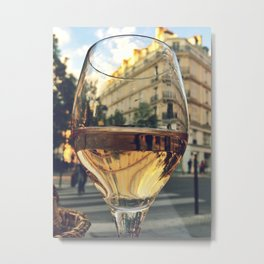 A Taste of Paris Metal Print
