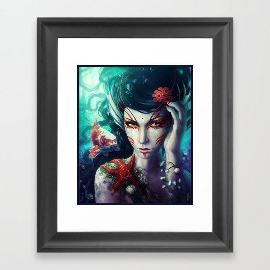 """""""The Deep is mine"""" Framed Art Print"""