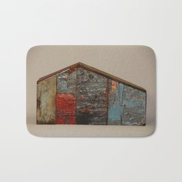 Reclaimed Wood House 11 Sculpture by Annalisa Ramondino Bath Mat