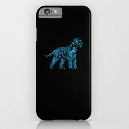 Giant Schnauzer Design Dog Mom Portrait iPhone Case