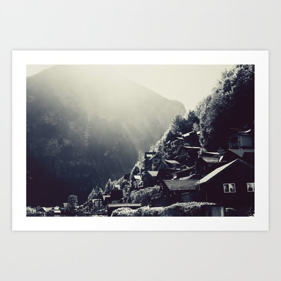 Hallstatt Revisited Art Print